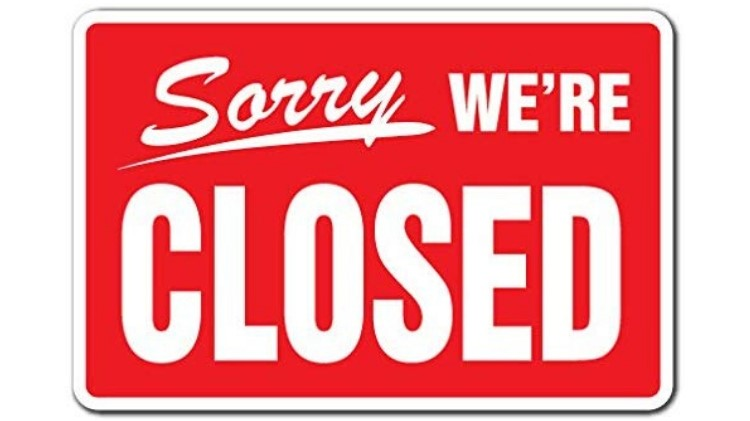 MWR Closed
