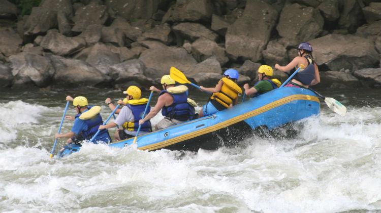 Leigh River Rafting Trip