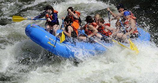 Kennebec River Rafting Trip