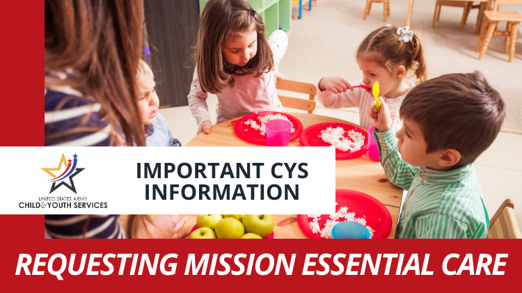 CYS Mission Essential Care